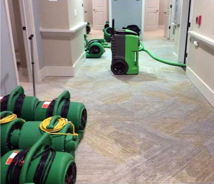 Commercial Water Damage In Charleston Before