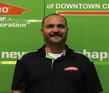 Scott Hughes General Manager SERVPRO of Downtown Charleston