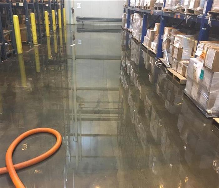 Fast & Urgent Water Loss Response to a Downtown Charleston Warehouse