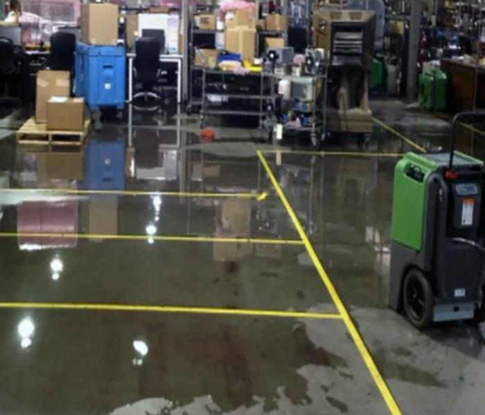Commercial Water Damage Restoration In Charleston