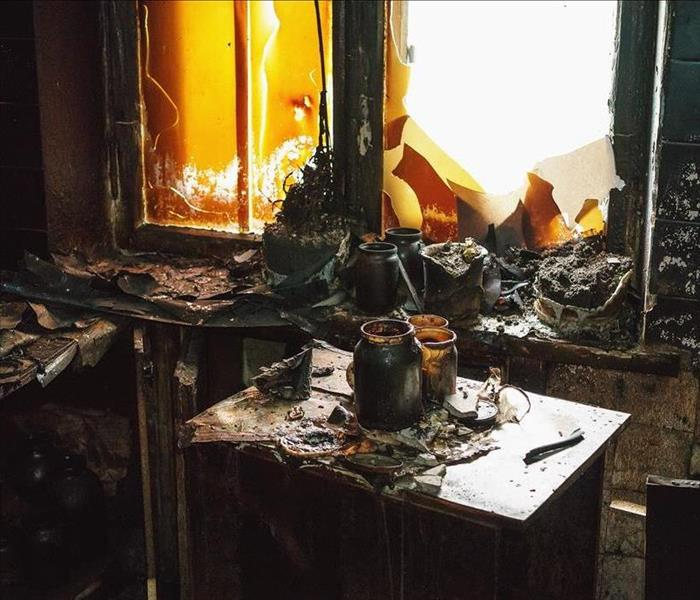 Fire Damage SERVPRO - Cleaning and Removing Fire Damage in Charleston Homes